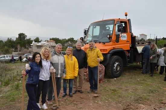 Με επιτυχία πραγματοποιήθηκε η 4η Εθελοντική Δράση Αναδάσωσης για το 2020 από τον Σ.Π.Α.Π. και το «Όλοι Μαζί Μπορούμε και στο Περιβάλλον» στη Νταού Πεντέλη.