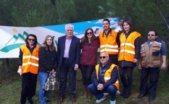Αγία Παρασκευή: Μια ακόμη δενδροφύτευση πραγματοποίησε ο Δήμος σε συνεργασία με τον Σύνδεσμο για την Προστασία του Υμηττού (ΣΠΑΥ)