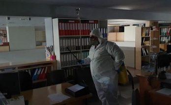 Χαλάνδρι:Απολυμάνσεις σε όλα τα δημοτικά κτίρια