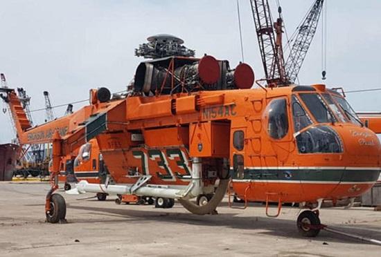 Η Ελλάδα ενισχύεται έγκαιρα με πυροσβεστικά ελικόπτερα Air Crane της Erickson