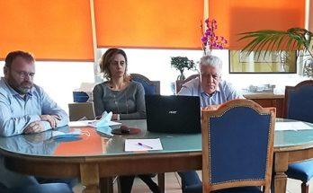 2η Τηλεδιάσκεψη του Δήμαρχου με τους επικεφαλής των Δημοτικών Παρατάξεων