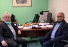 Ηράκλειο : Επίσκεψη του Νίκου Μπάμπαλου στο Νοσοκομείο «Αγία Όλγα»