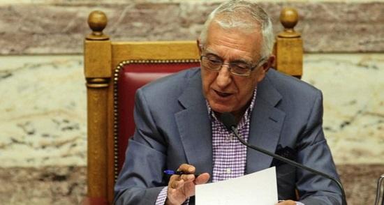 O Aντιπρόεδρος της Βουλής και βουλευτής της Νέας Δημοκρατίας Νικήτας Κακλαμάνης