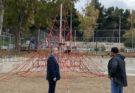 Παπάγου Χολαργού: Με γοργούς ρυθμούς προχωρά το έργο στην παιδική χαρά του πάρκου Στρατάρχου Αλεξάνδρου Παπάγου