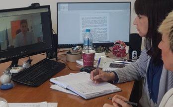 Πεντέλη : Η Δήμαρχος συμμετείχε σε τηλεδιάσκεψη με τον υφυπουργό Αθλητισμού κο. Αυγενάκη, τον ΓΓ Αθλητισμού τον πρόεδρο της ΚΕΔΕ και Δημάρχους για την πρώτη φάση επανεκκίνησης των αθλητικών δραστηριοτήτων
