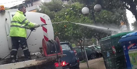 Λυκόβρυση Πεύκη: Οι απολυμάνσεις στο Δήμο συνεχίζονται