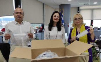 Ηράκλειο Αττικής: Δωρεά σε μάσκες από φαρμακευτική εταιρία στο πλαίσιο της «Κοινωνικής Συμμαχίας»