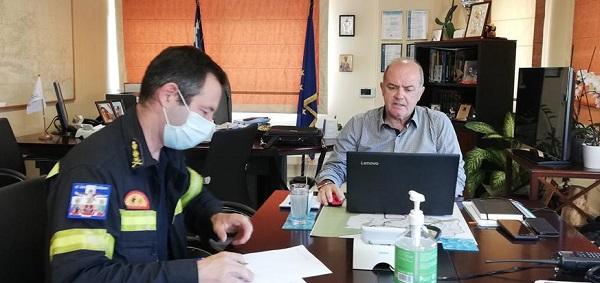 Διόνυσος: Συνεδρίασε μέσω τηλεδιάσκεψης το Συντονιστικό Τοπικό Όργανο Πολιτικής Προστασίας του Δήμου ενόψει της αντιπυρικής περιόδου