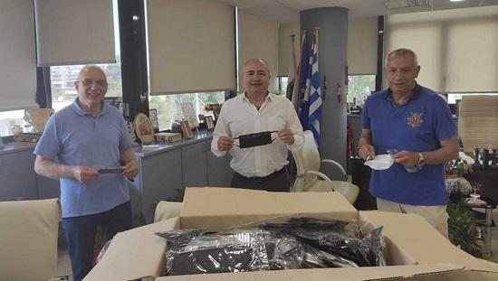 Ηράκλειο Αττικής :Δωρεά μάσκες από την ένωση Δημάρχων για τους εργαζομένους του Δήμου