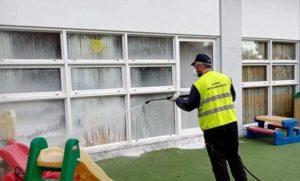 Μεταμόρφωση: Επιστροφή των μικρών μαθητών στα σχολεία και η Υπηρεσία καθαριότητας καθαρίζει και απολυμάνει όλους τους χώρους