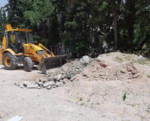 Μεταμόρφωση: Εξωραϊσμός του παράδρομου της Αττικής και του κτήματος Λαμπακη - Κουμπούρη