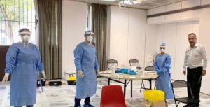 Παπάγου Χολαργός: Ο ΕΟΔΥ ξεκίνησε διαγνωστικά τεστ κορονοϊού σε εργαζόμενους του Δήμου
