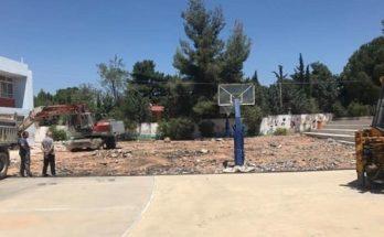 Παπάγου Χολαργός: Ανακατασκευή του προαύλιου χώρου του 1ου Δημοτικού Σχολείου Παπάγου