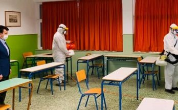 Φιλοθέη Ψυχικό: Σήμερα Κυριακή απολυμάνθηκαν όλα τα Λύκεια μας για να υποδεχθούν τους μαθητές