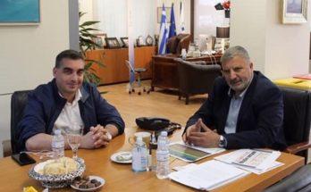 Περιφέρεια Αττικής : Mε το Δήμαρχο Ελληνικού Αργυρούπολης συναντήθηκε ο Περιφερειάρχης
