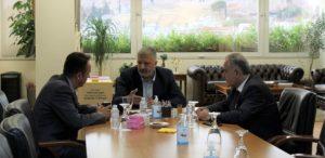Περιφέρεια Αττικής : Συνάντηση με τον Πρόεδρο του Επαγγελματικού Επιμελητηρίου Αθηνών Γ. Χατζηθεοδοσίου