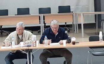 Σ.Π.Α.Π: O Πρόεδρος του Συνδέσμου Βλάσσης Σιώμος συμμετείχε στην 2η διευρυμένη Συνεδρίαση Συντονιστικού Οργάνου Πολιτικής Προστασίας του Δήμου Διονύσου.