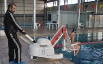 κολύμβηση των ΑμεΑ στο «Ν. Πέρκιζας»