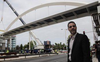 Άλιμος: Νέα μεγάλη πεζογέφυρα