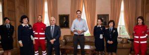 Αθήνα : Σύμφωνο συνεργασίας με τον Ελληνικό Ερυθρό Σταυρό
