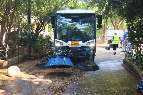 Αθήνα: Συνεχίζεται η αναβάθμιση και αναζωογόνηση της Πλατεία Λέλας Καραγιάννη στα Σεπόλια στην 4η Δημοτική Κοινότητα