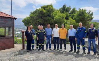 Πραγματοποιήθηκε η ετήσια συνάντηση εκπροσώπων για την πυροφύλαξη του Δάσους Θεόκλητου