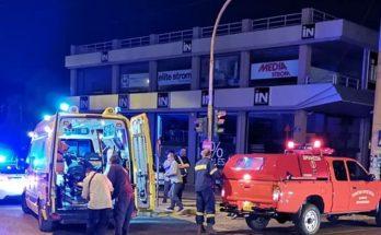 Βριλήσσια: Τα μεσάνυχτα στην οδό Λ. Πεντέλης και Αναπαύσεως είχαμε τροχαίο ατύχημα με μοτοσικλέτα