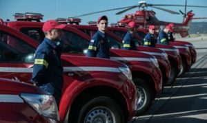 Ελλάδα: 20 πυροσβεστικά οχημάτων δωρεά από την εταιρεία Παπαστράτος