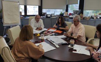 Ηράκλειο Αττική: Σύσκεψη στο γραφείο Δήμαρχου ενόψει της νέας σχολικής χρονιάς και την εφαρμογή του μέτρου της υποχρεωτικής δίχρονης προσχολικής