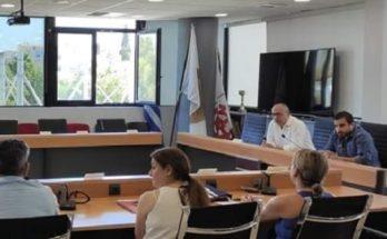 Νέο Ηράκλειο: Συνάντηση με τα αθλητικά σωματεία της πόλης πραγματοποιήθηκε στο Δημαρχείο