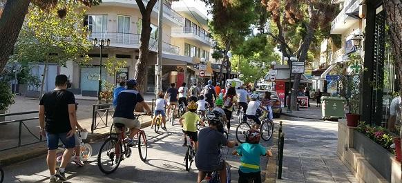 Ηράκλειο Αττικής: Παγκόσμια Ημέρα Ποδηλάτου η σημερινή
