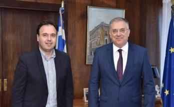 """Κ.Ε.Δ.Ε: Συνάντηση ΚΕΔΕ με τον Υπουργό Εσωτερικών Τάκης Θεοδωρικάκος ενόψει της ανακοίνωσης του Προγράμματος """"Αντώνης Τρίτσης"""""""