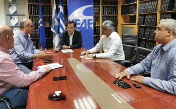 ΚΕΔΕ: Συνάντηση του Προέδρου της ΚΕΔΕ με τον Πρόεδρο της ΠΟΠ-ΟΤΑ