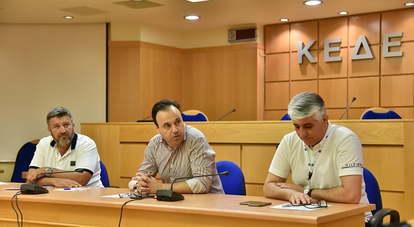 ΚΕΔΕ :Συνάντηση με το Προεδρείο της ΠΟΕ - ΟΤΑ