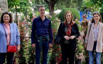 Κηφισιά : Κλιμάκιο του ΣΥΡΙΖΑ το Σάββατο επισκέφτηκε την 66η Ανθοκομική Έκθεση της Κηφισιάς