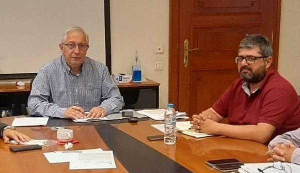 Μαρούσι : Με τον Πρόεδρο του Ινστιτούτου Γεωπονικών Επιστημών συναντήθηκε ο ο Δήμαρχος