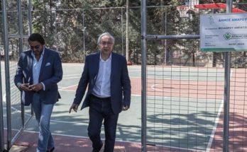 Μαρούσι : Με μεθοδικότητα και πρόγραμμα αναβαθμίζουμε και συντηρούμε όλους τους αθλητικούς μας χώρους