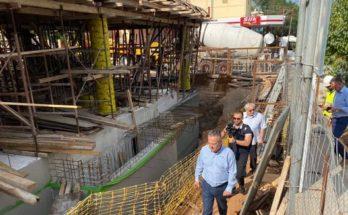 Παπάγου Χολαργός : Επίσκεψη του Δημάρχου στο εργοτάξιο του υπό ανέγερση κτιρίου που θα στεγάσει το πολυιατρείο και το (ΚΑΠΗ) στην Κοινότητα Παπάγου