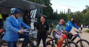Περιφέρεια Αττικής : Ποδηλατική δράση στο Πεδίο του Άρεως