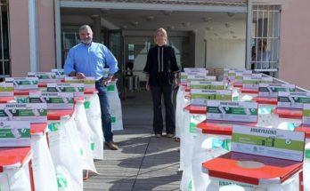 Περιφέρει Αττικης : Παράδοση κάδων εσωτερικής ανακύκλωσης από τον Περιφερειάρχη Γ. Πατούλη στις Αντιπεριφέρειες Νότιου Τομέα, Πειραιώς και Νήσων