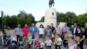 Περιφέρεια Αττικής : Στην ποδηλατική δράση στο Πεδίο του Άρεως
