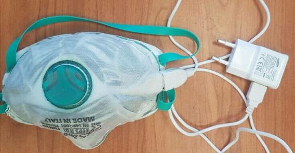 Τεχνολογία: Η επαναχρησιμοποιούμενη αυτοκαθαιρούμενη προστατευτική μάσκα