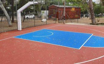Χαλάνδρι: Ολοκληρώθηκε η ανακατασκευή του γηπέδου μπάσκετ στο πάρκο του Συνοικισμού