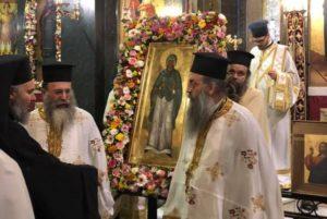 Αγία Παρασκευή: Με ιδιαίτερη λαμπρότητα τελέστηκε χθες ο Μέγας Αρχιερατικός Εσπερινός στον Ιερό Ναό Αγίας Παρασκευής