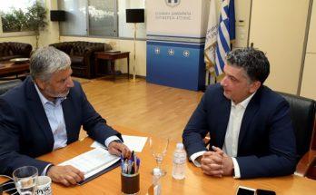 Περιφέρεια Αττικής : Συνάντηση του Περιφερειάρχη με τον Δήμαρχο Βριλησσίων