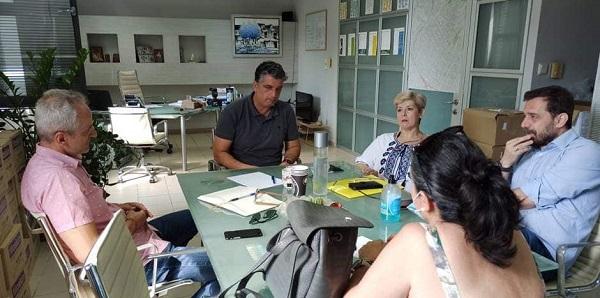 Βριλήσσια: Συνάντησή του Δημάρχου με τον Σύλλογο Εκπαιδευτικών Πρωτοβάθμιας Εκπαίδευσης «Ο Περικλής»