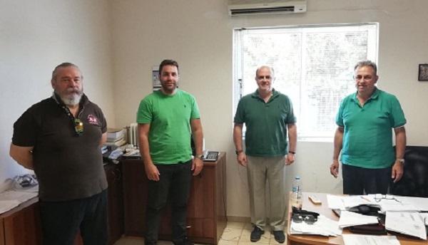 Διόνυσος: Ενίσχυση της αστυνόμευσης στο Δήμο ζήτησε ο Δήμαρχος από τους Διοικητές του Αστυνομικού Τμήματος και του Τμήματος Ασφαλείας