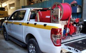 Διόνυσος: Αγορά και τοποθέτηση αντλητικών πυροσβεστικών συστημάτων πάνω στα ημιφορτηγά αυτοκίνητα Ford 4Χ4 που έχει ο Δήμος