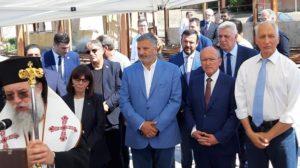 Ελλάδα :Η Πρόεδρος της Δημοκρατίας στο Μάτι στο μνημόσυνο στη μνήμη των θυμάτων της πυρκαγιάς της 23ης Ιουλίου 2018