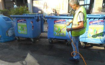 Φιλοθέη Ψυχικό: Ο Δήμος πλένει και απολυμαίνει εντατικά όλους τους κάδους απορριμμάτων και ανακύκλωσης και στις 3 Κοινότητες